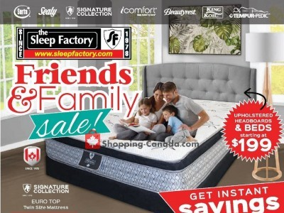 Sleep Factory Flyer Thumbnail