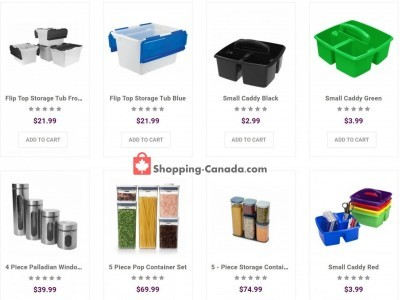 Solutions - Your Organized Living Store Outdated Flyer Thumbnail