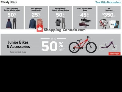 Sport Chek Outdated Flyer Thumbnail