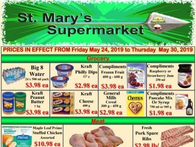 St. Mary's Supermarket Outdated Flyer Thumbnail