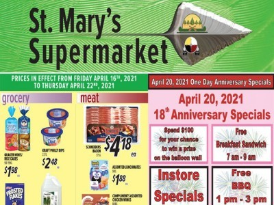 St. Mary's Supermarket Flyer Thumbnail
