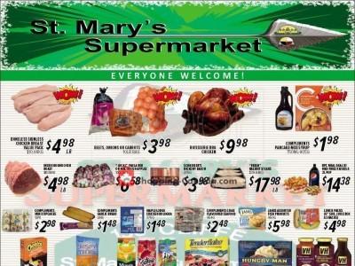 St. Mary's Supermarket Flyer Thumbnail