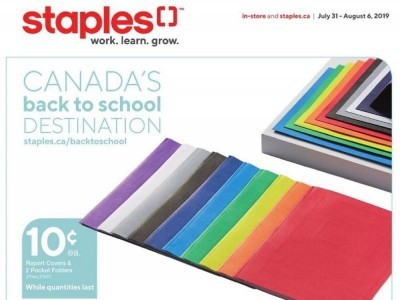 Staples Outdated Flyer Thumbnail