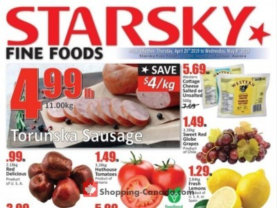 Starsky Foods Outdated Flyer Thumbnail