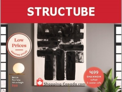 Structube Flyer Thumbnail