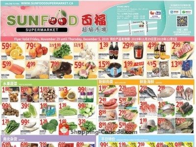 Sunfood Supermarket Flyer Thumbnail
