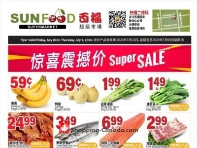 Sunfood Supermarket Flyer Thumbnail