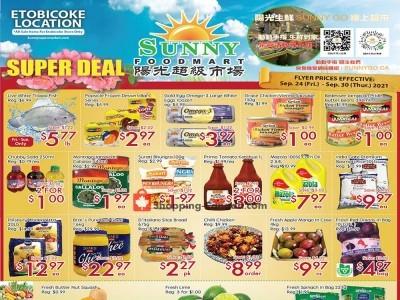 Sunny Foodmart Flyer Thumbnail
