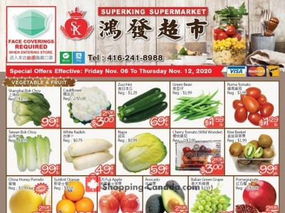 SuperKing Super Market Flyer Thumbnail