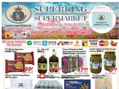 SuperKing Super Market Flyer Thumbnail