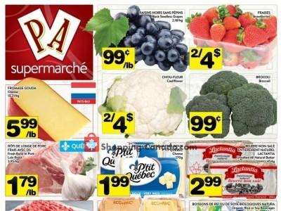 Supermarché PA Flyer Thumbnail