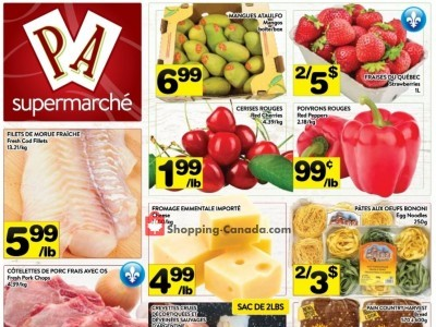 Supermarché PA Outdated Flyer Thumbnail