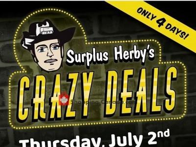 Surplus Herby's Flyer Thumbnail