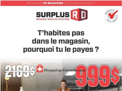 Surplus RD Outdated Flyer Thumbnail