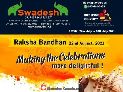 Swadesh Supermarket Outdated Flyer Thumbnail