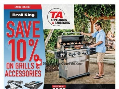 TA Appliances & Barbecues Outdated Flyer Thumbnail