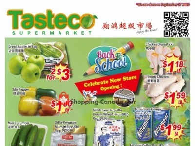 Tasteco Supermarket Outdated Flyer Thumbnail