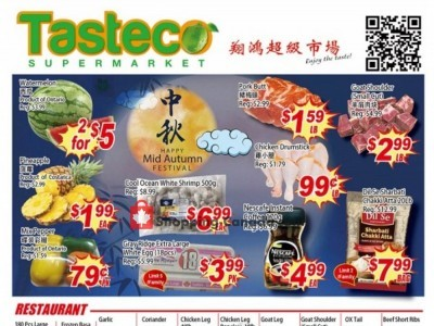 Tasteco Supermarket Flyer Thumbnail