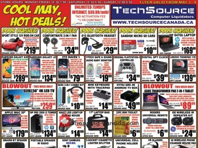 TechSource Canada Outdated Flyer Thumbnail