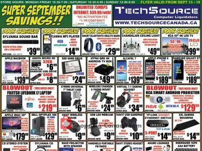 TechSource Canada Flyer Thumbnail