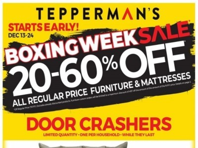 Tepperman's  Outdated Flyer Thumbnail