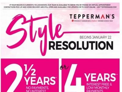 Tepperman's  Flyer Thumbnail
