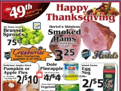The 49th Parallel Grocery Outdated Flyer Thumbnail