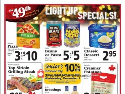 The 49th Parallel Grocery Flyer Thumbnail