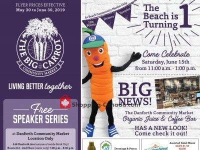 The Big Carrot Outdated Flyer Thumbnail
