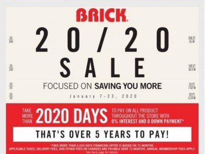 The Brick Outdated Flyer Thumbnail