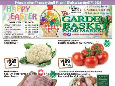 The Garden Basket Outdated Flyer Thumbnail