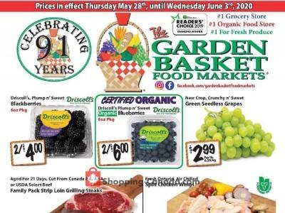 The Garden Basket Flyer Thumbnail