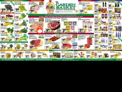 The Garden Basket Flyer Thumbnail