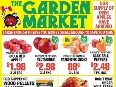 The Garden Market Flyer Thumbnail