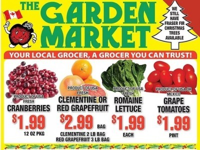 The Garden Market Outdated Flyer Thumbnail