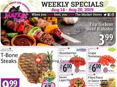 The Market Stores Outdated Flyer Thumbnail