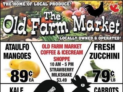 The Old Farm Market Flyer Thumbnail