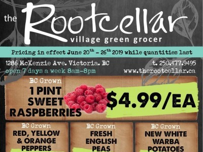 The Root Cellar Outdated Flyer Thumbnail