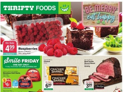 Thrifty Foods Outdated Flyer Thumbnail