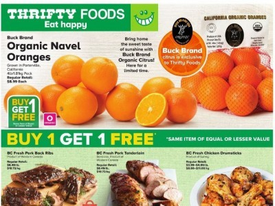 Thrifty Foods Flyer Thumbnail