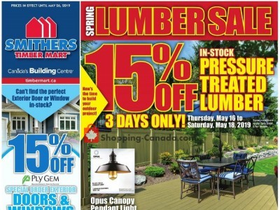 Timber Mart Flyer Thumbnail