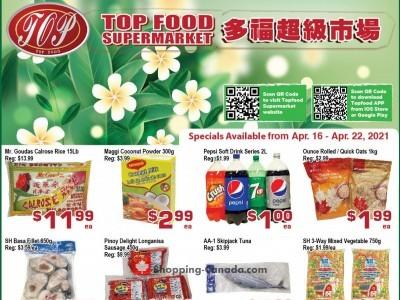 Top Food Flyer Thumbnail