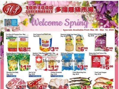 Top Food Outdated Flyer Thumbnail