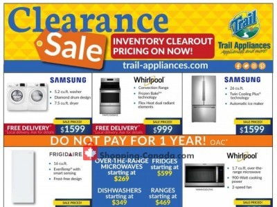 Trail Appliances Flyer Thumbnail