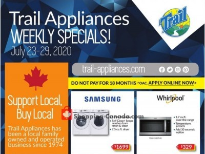 Trail Appliances Flyer Thumbnail
