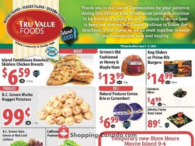 Tru Value Foods Flyer Thumbnail