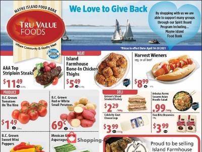 Tru Value Foods Flyer Thumbnail