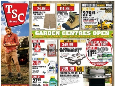 TSC Stores Outdated Flyer Thumbnail