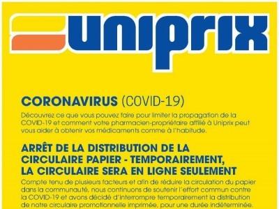 Uniprix Flyer Thumbnail