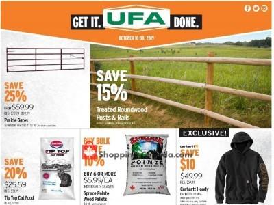 United Farmers Of Alberta Flyer Thumbnail